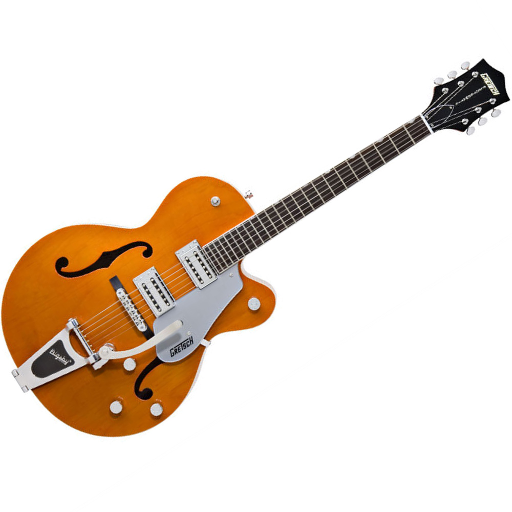 ex display gretsch g5120 electromatic hollow body electric guitar matte orange ebay. Black Bedroom Furniture Sets. Home Design Ideas
