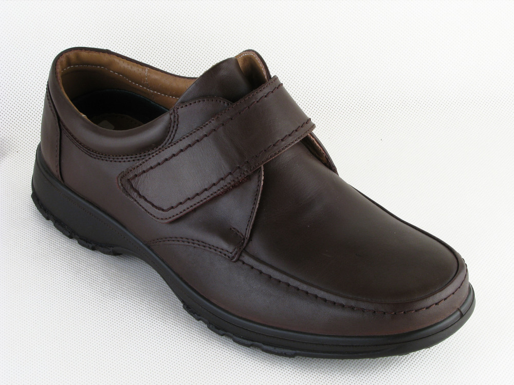 Wide Fitting Brown Shoes Men